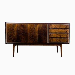 Sideboard aus Nussholz von S. Albracht für Bydgoskie Furniture Factories, 1972