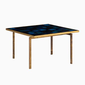 Brass Bear Coffee Table by Carl Bjørn for P. Törneman, 1960s