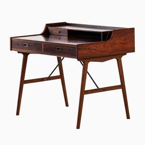 Escritorio danés modelo 56 de palisandro de Arne Wahl Iversen, 1961