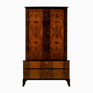Birch and Rosewood Cabinet by Erik Chambert, 1920s