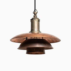 Lámpara de techo modelo PH 3/3 vintage de Poul Henningsen