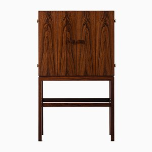 Danish Rosewood Bar Cabinet by Kurt Østervig for K.P Møbler, 1950s