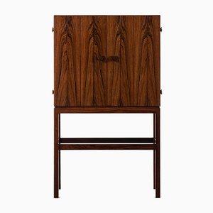 Mueble bar danés de palisandro de Kurt Østervig para K. P. Møbler, años 50