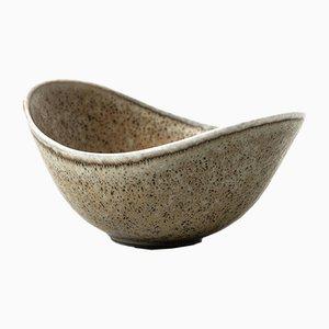 Cuenco Aro escandinavo moderno de cerámica de Gunnar Nylund, años 60