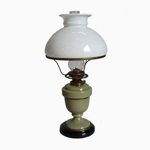 Lámpara de mesa antigua de bronce
