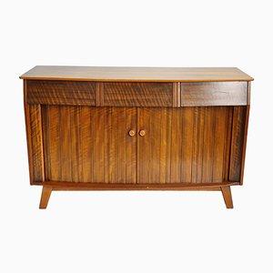 Scandinavian Modern Walnut Sideboard, 1960s
