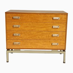 Cajonera industrial de madera comprimida de Lesley Dandy para G-Plan, años 60