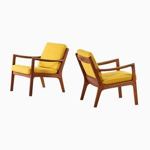 Dänische Nr. 116 Senator Beistellstühle von Ole Wanscher für France & Søn, 1951, 2er Set