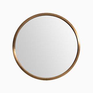 Specchio rotondo vintage di Glasmäster