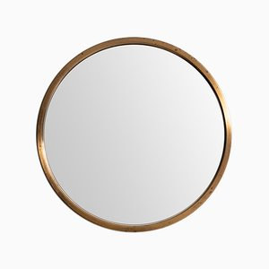 Vintage Round Mirror from Glasmäster