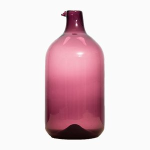 Scandinavian Model Pulo Glass Vase by Timo Sarpaneva for Iittala, 1956