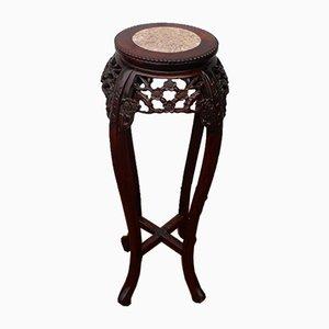 Vintage Padouk Side Table, 1920s