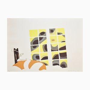 Danish Lithograph by Erik A. Frandsen, 2002