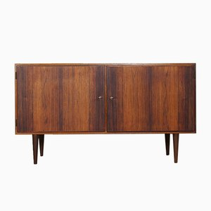 Danish Birch, Oak, and Palisander Sideboard by Carlo Jensen for Hundevad & Co., 1960s
