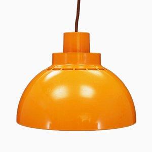 Lámpara de techo danesa vintage, años 70