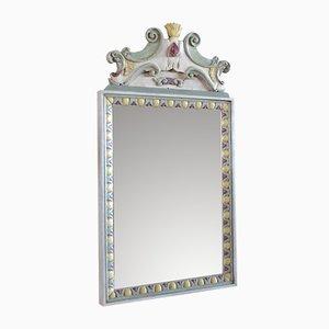 Italienischer Vintage Spiegel, 1980er