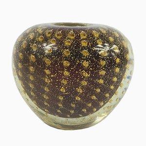 Moderne italienische Vase aus Muranoglas von Barovier & Toso, 1950er
