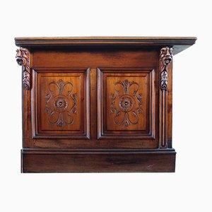 Antique Mahogany Bar Counter Top