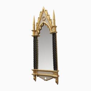 Italienischer Vintage Spiegel im neugotischen Stil, 1970er
