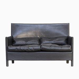 Vintage Italian Leather Sofa from Molteni, 1990s
