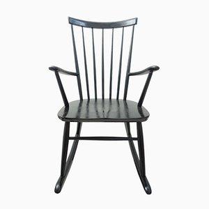 Rocking Chair en Bois par Roland Rainer pour Hagafors, 1960s