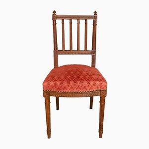 Antike neoklassizistische französische Esszimmerstühle, 2er Set