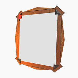 Antique Cubist Wall Mirror