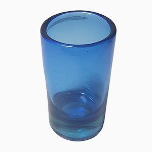 Mid-Century Italian Murano Glass Vase by Pinzoni Mario for Seguso, 1950s