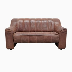 Vintage 2-Seater Leather DS44 Sofa from de Sede, 1970s