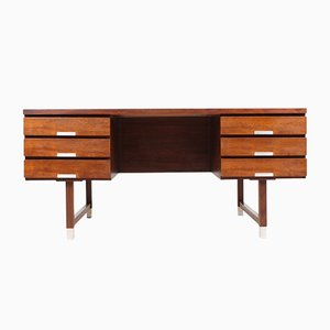 Danish Rosewood Desk by Kai Kristiansen for Skovmand & Andersen, 1950s