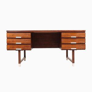 Danish Rosewood Desk by Kai Kristiansen for Skovmand & Andersen, 1950s