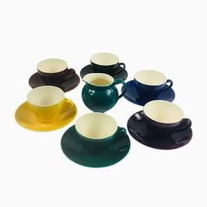 Danish Porcelain Confetti Coffee Set from Royal Copenhagen, 1950s