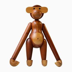 Großer Vintage Affe aus Teak von Kay Bojesen