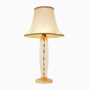 Italian Murano Glass Table Lamp by John Hutton for Donghia, 1990s