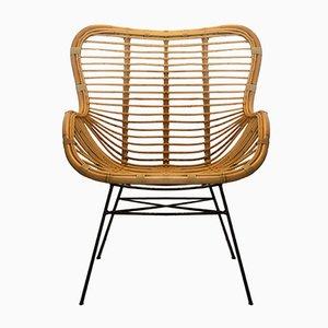 Stuhl aus Eisen & Rattan von Suite Contemporary