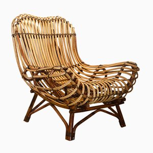 Hand-Crafted Rattan and Cane Armchair from Suite Contemporary, 2019