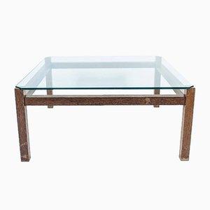 Table Basse en Wengé par Kho Liang Ie & Wim Crouwel pour Artifort, 1960s