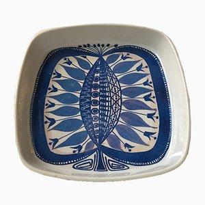 Cuenco danés de cerámica de Beth Breyen para Royal Copenhagen, años 70