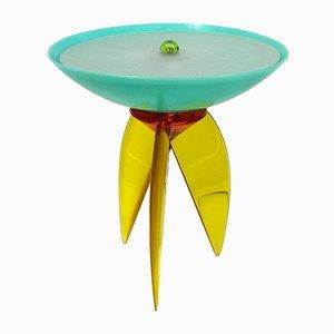 Tischlampe aus Plexiglas & Harz von Steve Zoller, 1970er