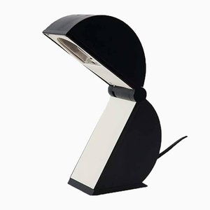 Italian Plastic Disco Table Lamp by Mario Bertorelle, 1970s