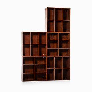 Bibliothèques par Mogens Koch pour Rud Rasmussen, 1930s, Set de 5