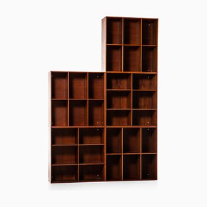 Bookcases by Mogens Koch for Rud Rasmussen, 1930s, Set of 5