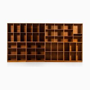 Modulare Bücherregale von Mogens Koch für Rud Rasmussen, 1930er, 8er Set