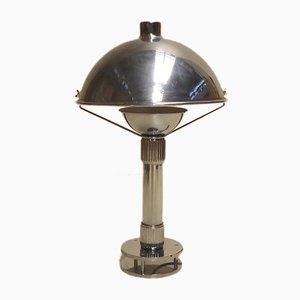 Französische Schreibtischlampe aus Messing & Bronze, 1970er