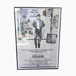 Poster vintage del film Taxi Driver, 1976