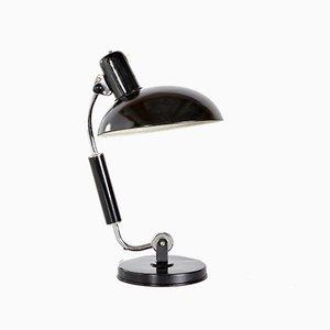 Lámpara de mesa Bauhaus modelo 2035 TL122 cromada de Christian Dell para Koranda, años 30