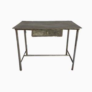 Industrieller Mid-Century Schreibtisch aus Eisen, 1950er