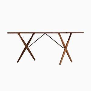 Tavolo da pranzo AT-303 di Hans Wegner per Andreas Tuck, anni '50