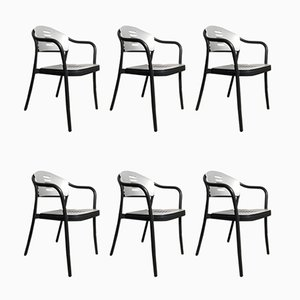 Stackable Mauna Kea Chairs by Vico Magistretti for Kartell, 1990s, Set of 6