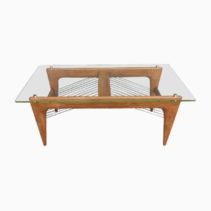 French Naviglio Coffee Table by Louis Sognot, 1950s